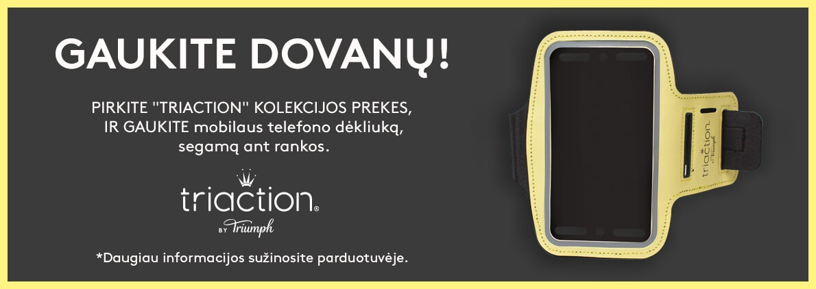 Triaction by Triumph dovana