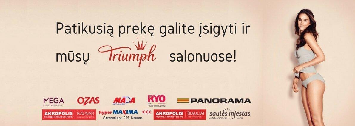 Sentiment Triumph parduotuvės