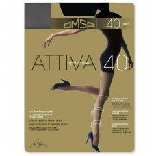 Pėdkelnės OMSA Attiva riposante 40 Grigio P.