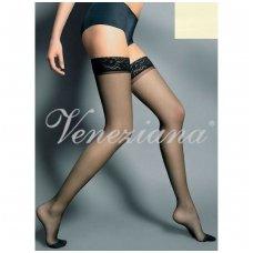 Priklijuojamos kojinės Veneziana AR Silvi 15 Panna
