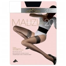 Prilipinamos kojinės OMSA Malizia autoreggente 20 Bianco